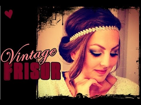 Vintage Frisur Mit Haarband Schnell Einfach Beautyvideos