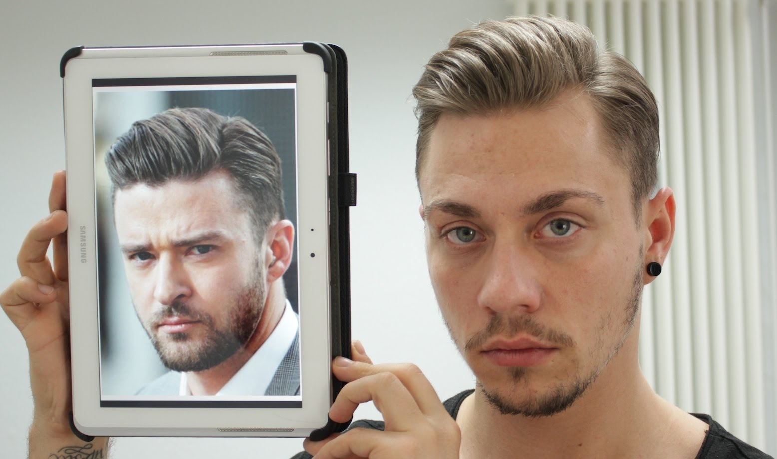 Justin Timberlake Frisur Selber Stylen Undercut Männer Dominik