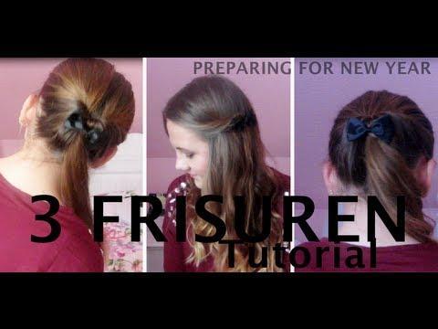 3 Haartutorials – SÜß Und Einfach – Preparing For New Year Ll ♥