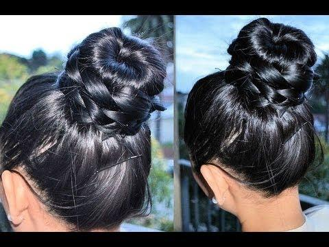 How To Braided Donut Bun Tutorial – Aprilathena7