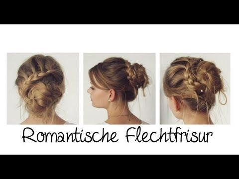 romantische flechtfrisur mit dutt beautyvideos. Black Bedroom Furniture Sets. Home Design Ideas