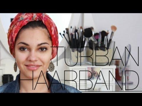 Turban/haarband Binden – 3 Styles