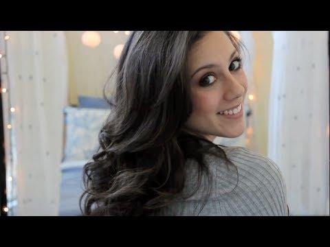 Everyday Hair Tutorial How To Curl Hair With A Straightener