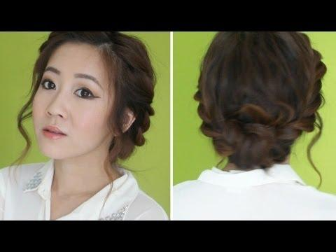 3 Min Twisted Updo