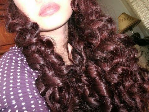 No Heat Curly-Wavy Hair Tutorial