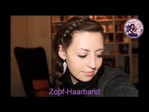 Blitzschnelle Frisur: Geflochtenes Haarband