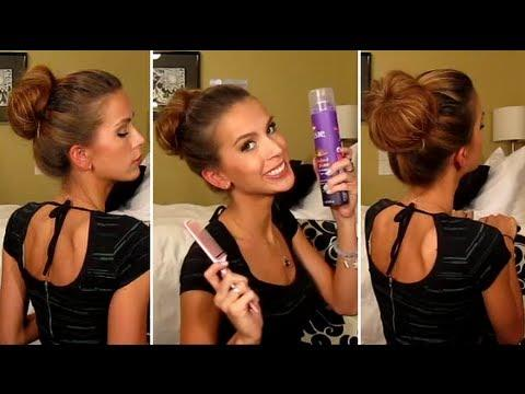 Pretty Dirty Princess Bun Tutorial
