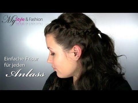 Einfache Frisur Fr Jeden Anlass – Flechtfrisur