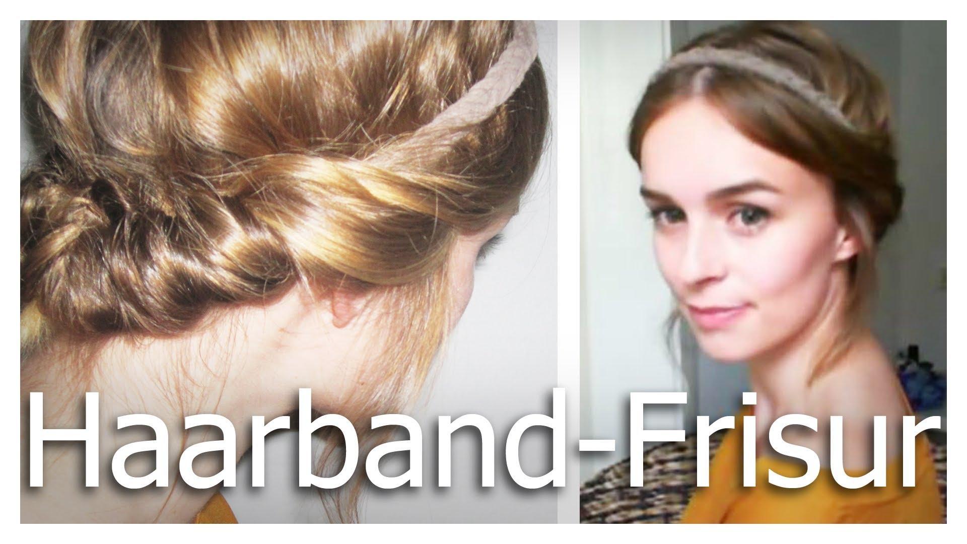Hochsteckfrisur Mit Haarband – Leicht Und Schnell – Haarbandfrisur