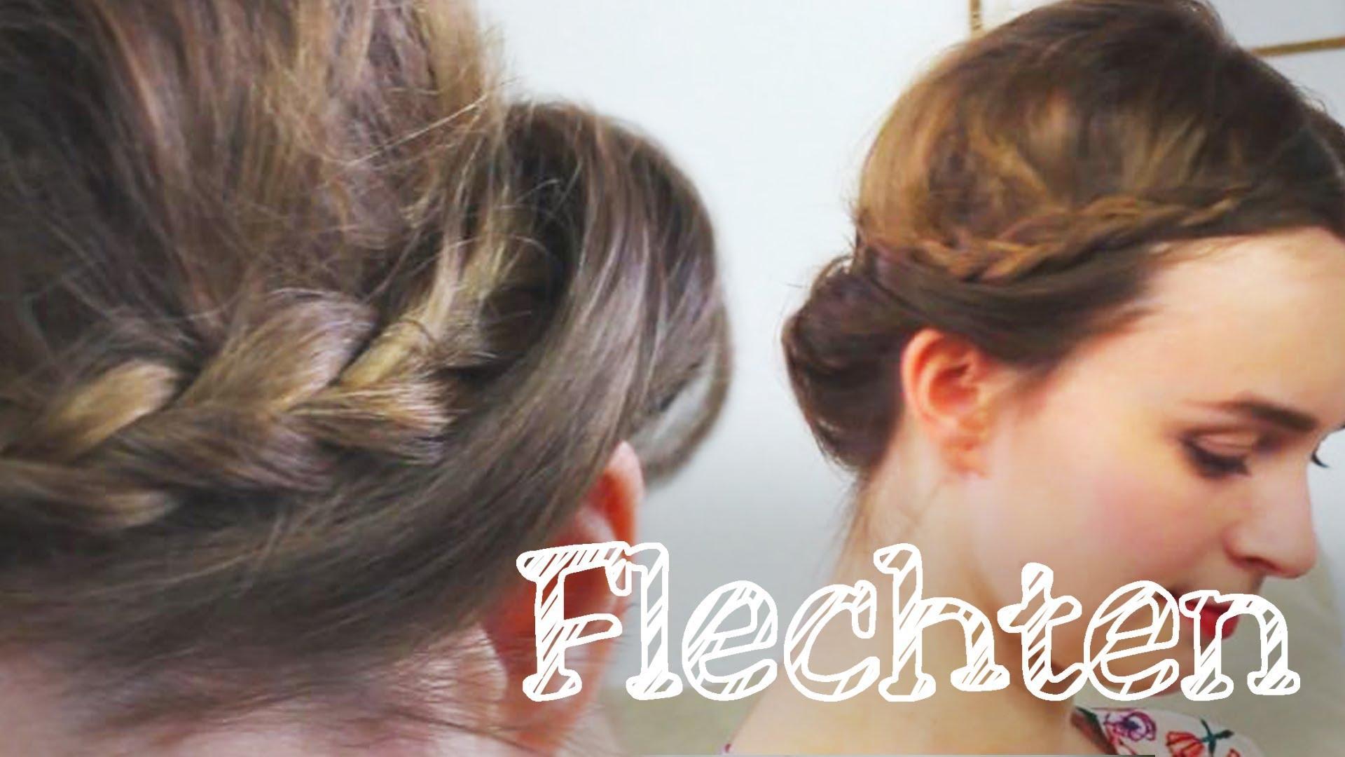 Haarband-Frisur Ohne Haarband – Haarband Aus Eigenhaar – Süß, Einfach, Sommerlich