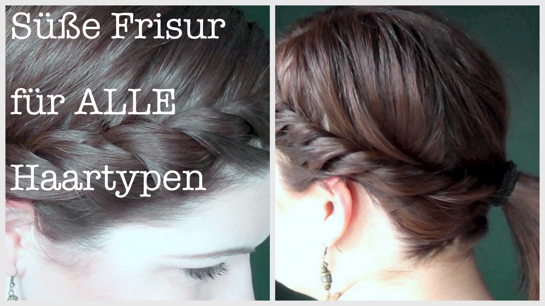 Süße Frisur – Alle Haartypen