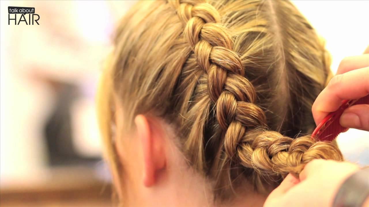 Flechtfrisur Tutorial Zum Oktoberfest – Talk About Hair