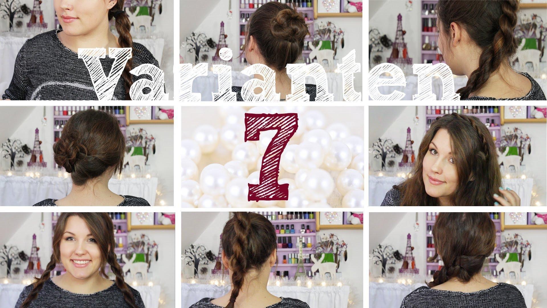 7 Einfache Frisuren Varianten