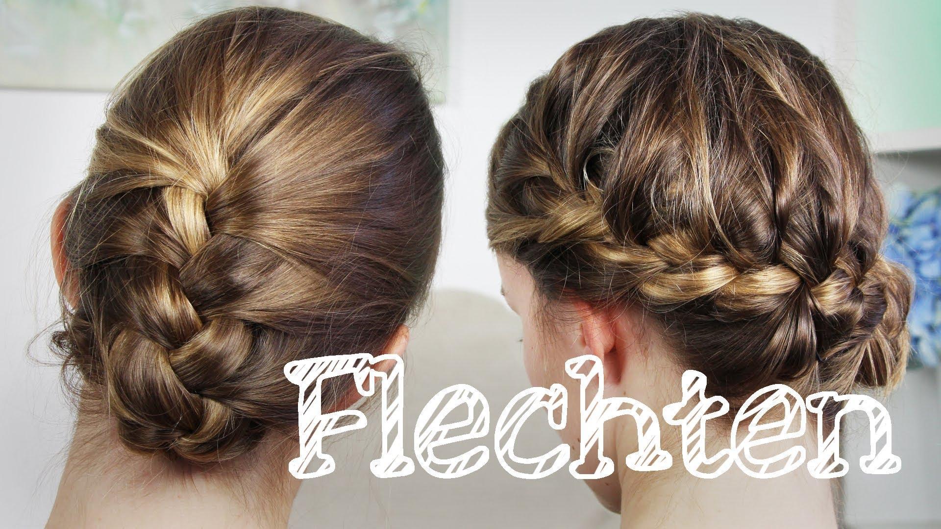 Haare Wie Franzsisch Flechten Plus 2 Frisuren – Franzosenzopf
