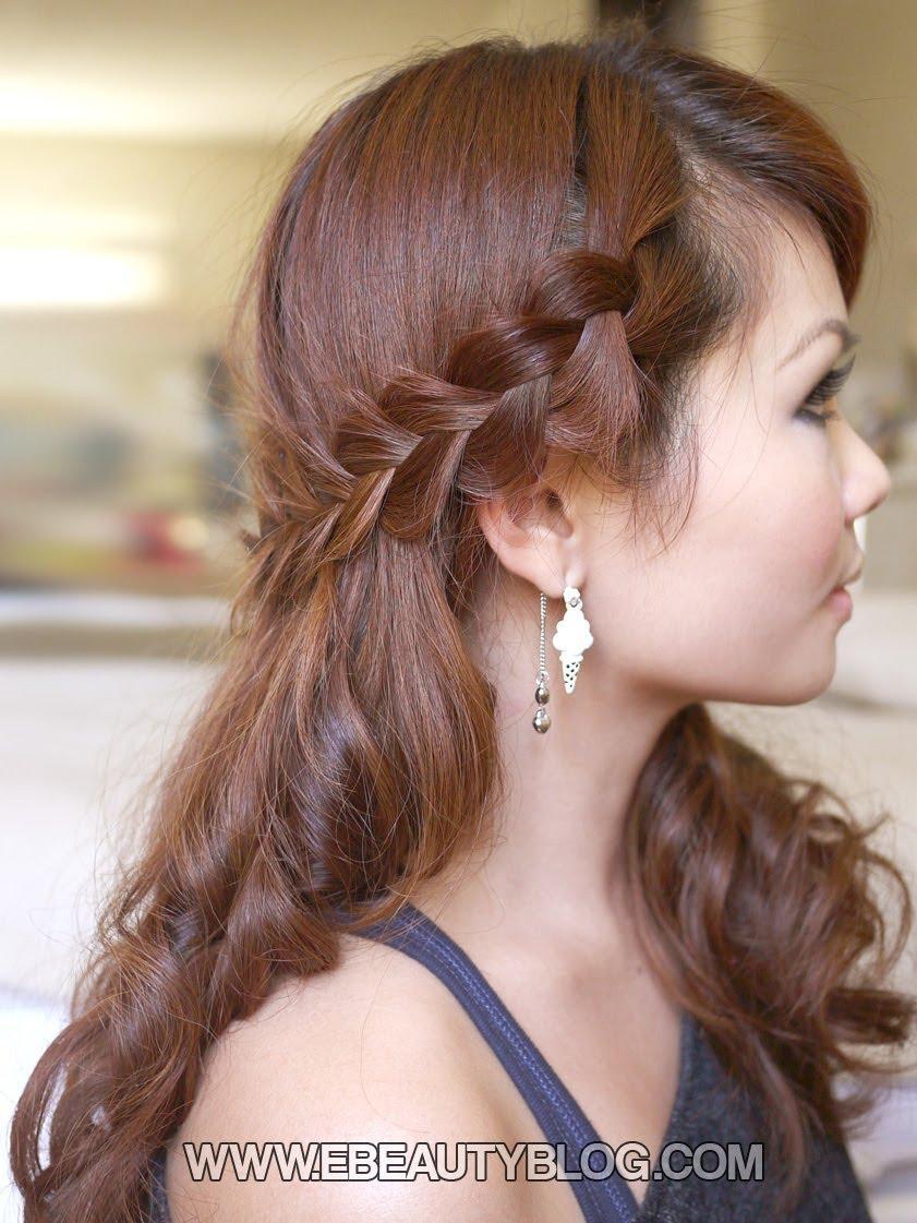 Hair Tutorial Romantic Bohemian Braids