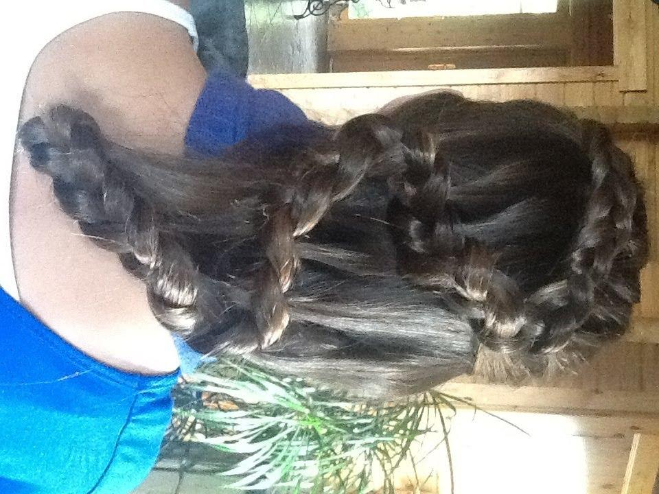 Holländischer Zopf Welle Anleitung Tutorial Flechtfrisuren Waterfall Dutch Braid Wave Shakira