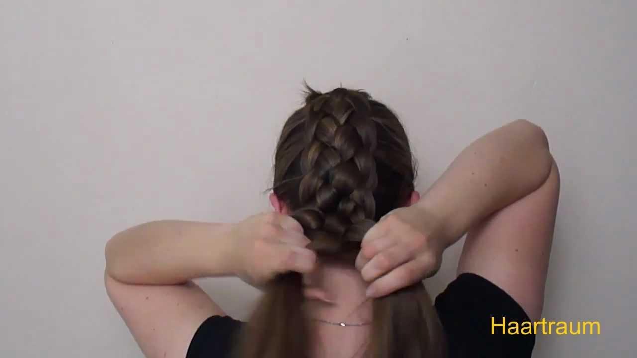 Haartraum Fünfer Zopf Anleitung