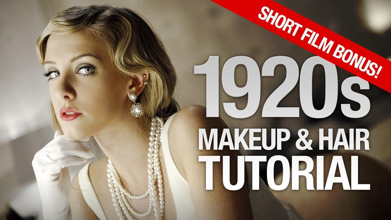1920s Makeup & Hair Tutorial