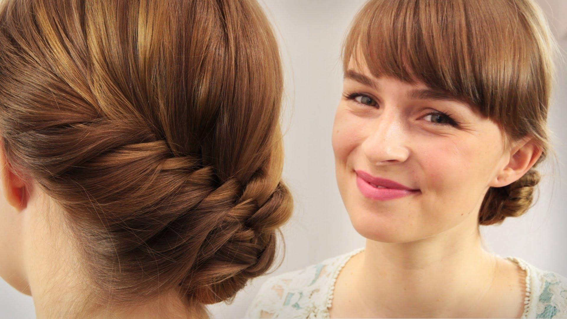 Haare Französischer Fischgrät – Frisur Für Hochzeit, Ball, Gala – Für Fortgeschrittene