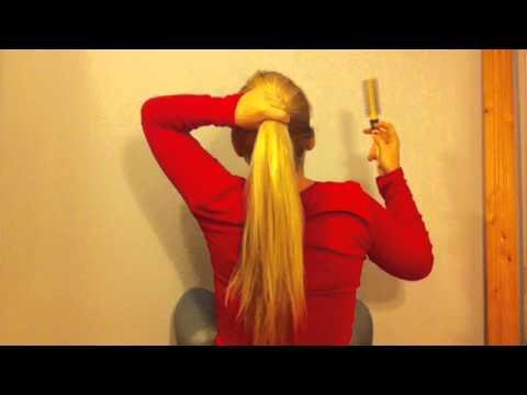 Lange Haare Zusammenstecken Der Perfekte Zopf
