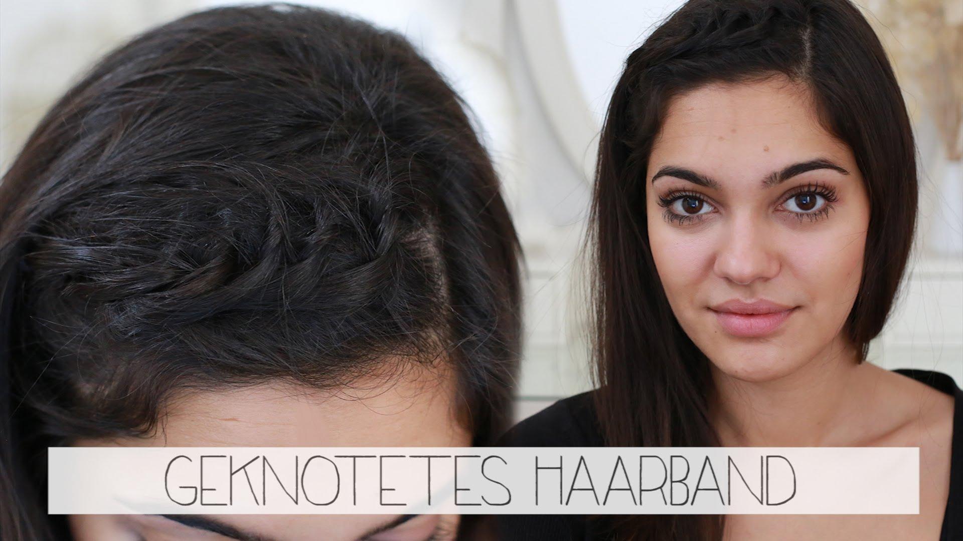 Frisur Geknotetes Haarband – Tutorial Zur Technik – Haare – Jede Länge