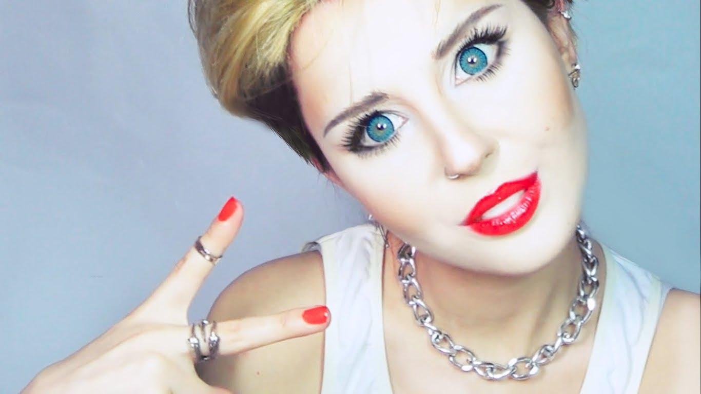 Miley Cyrus Make Up Tutorial By Anastasiya Shpagina