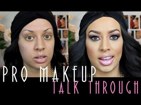 Pro Application Makeup Tutorial Talk Through!