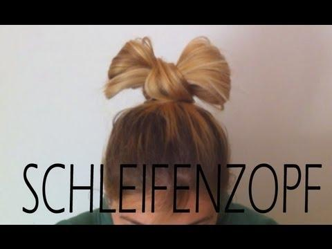 Schleifen Zopf Einfache Hochsteckfrisur Fur Lange Haare Beautyvideos