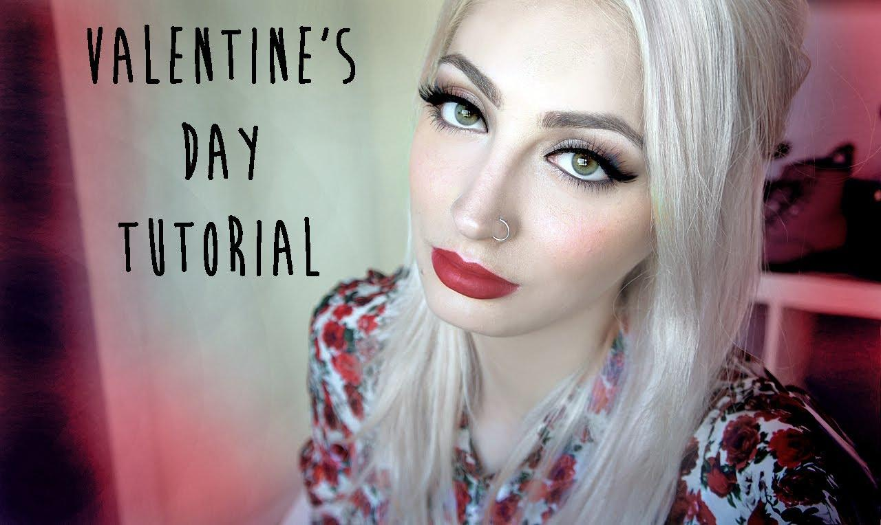 Valentine's Day Makeup Tutorial & $200 Giveaway