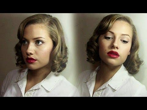Vintage Inspired Hairstyle Tutorial