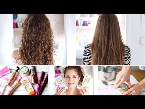 Meine Haar-routine Lockig Und Glatt
