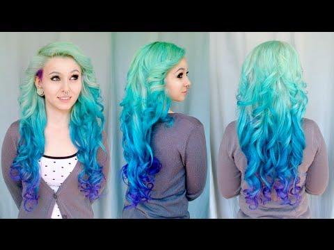 Diy Mermaid Ombre Haare – Tutorial Von Cira Las Vegas