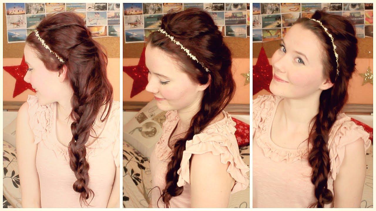 ► Frisur Like A Princess – Silvester 2013