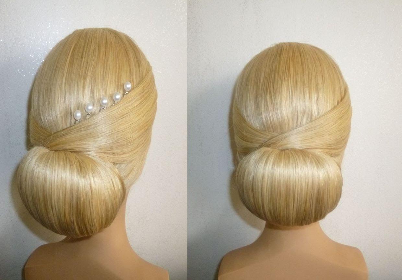 Frisur Mit Duttkissendutthochsteckfrisurabiballfrisurdonut Hair Bun Hairstylechignon Donut