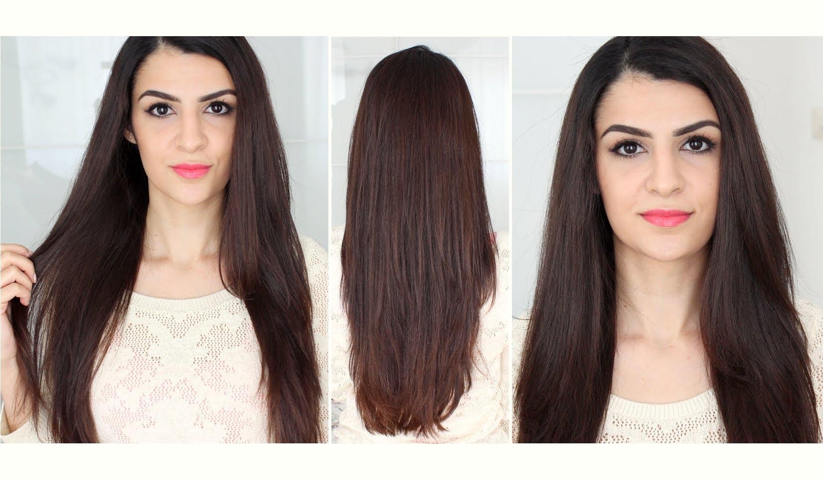 How To Glatte Haare & Trotzdem Volumen