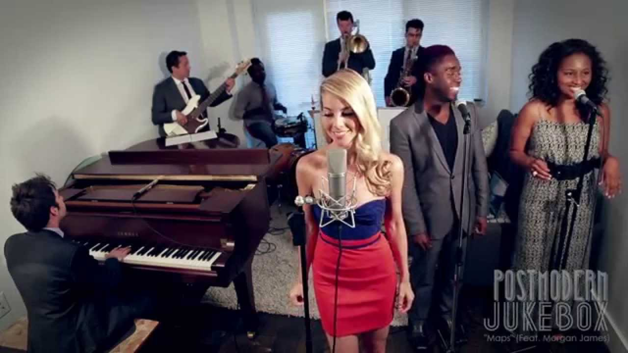 Maps – Vintage 1970s Soul Maroon 5 Cover Ft Morgan James
