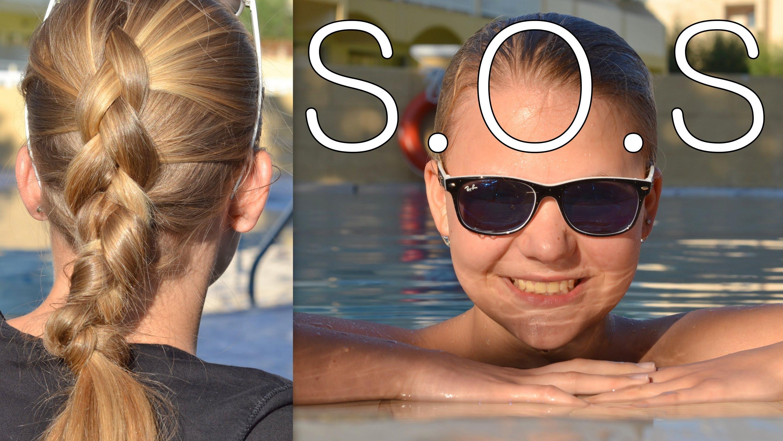 Notfallfrisur – Frisur Ohne Haargummi