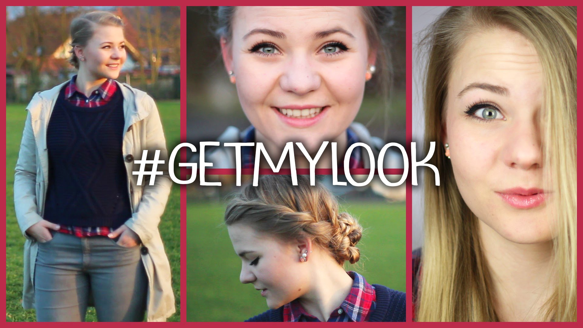 Make Up, Frisur & Outfit Routine – #getmylook