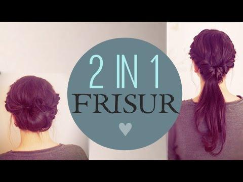 2in1 Frisur – Zwei Einfache Zwirbelfrisuren ♥