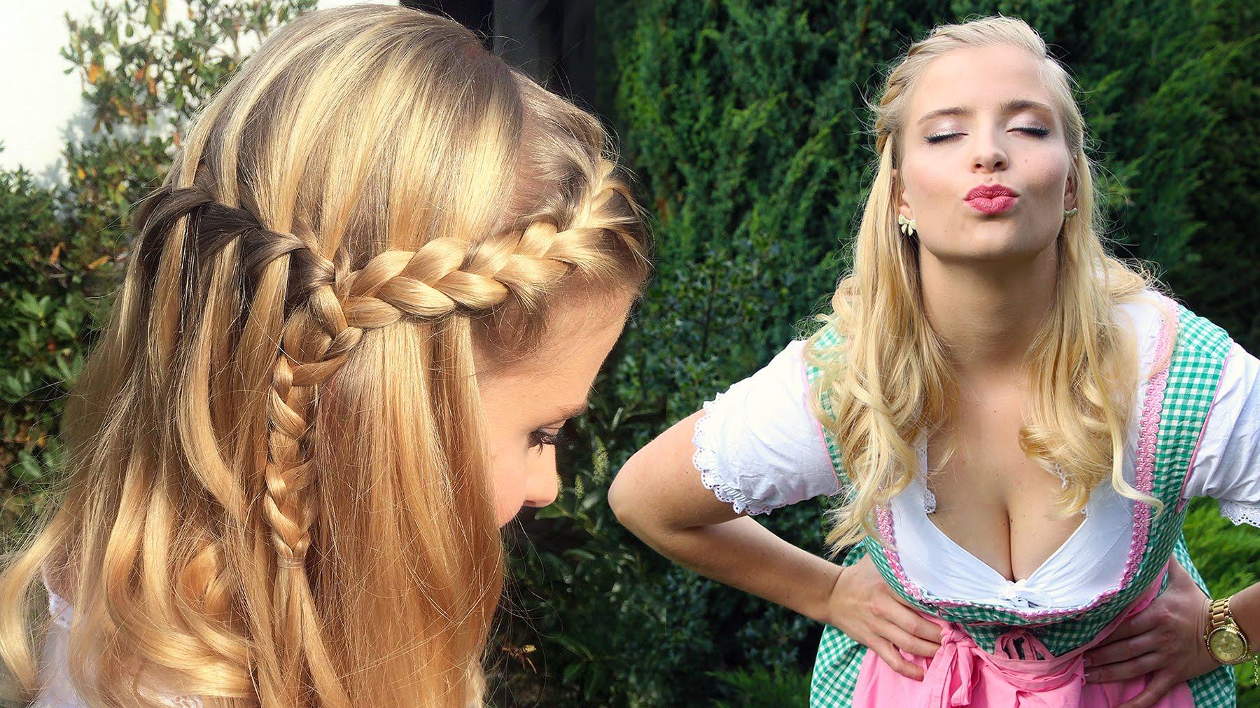 Oktoberfest – Frisur, Makeup & Dirndl – Perfekter Wiesn Look