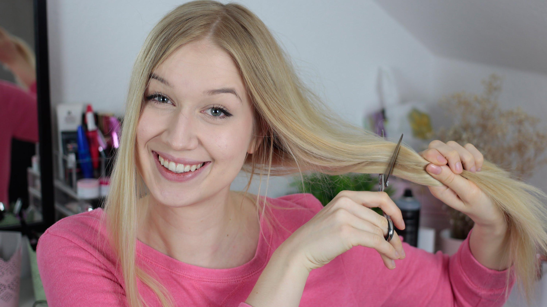 So Schneide Ich Meine Haare! – Tutorial