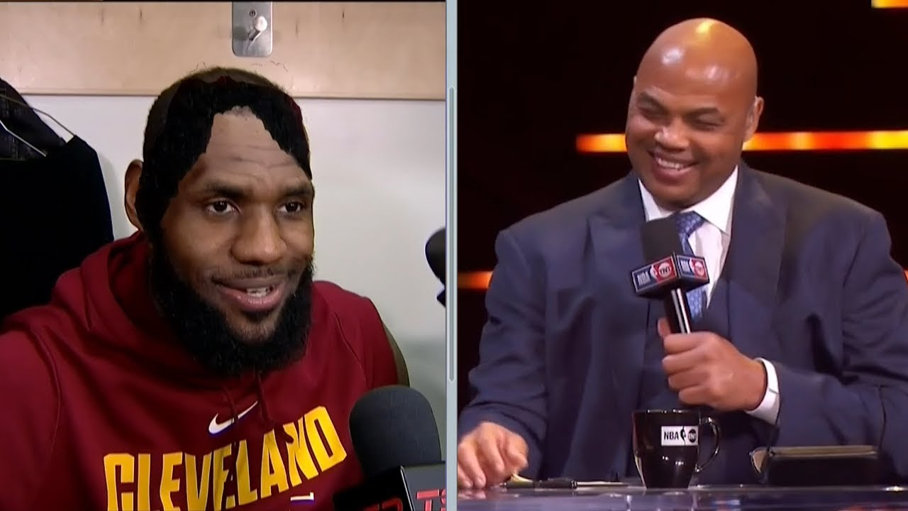 Inside The NBA: Chuck Jokes About LeBron's Hair | January 11, 2018 | 2017-18 NBA Season