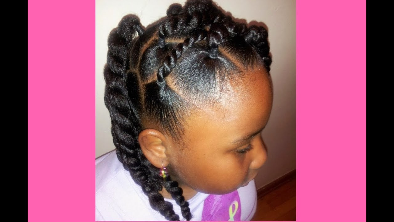 Natural Hairstyles For Kids With Short Hair 2018