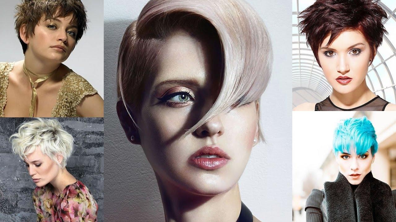 Short Hair Hairstyles 2018 – 2019   Latest Trends Short Hair Ideas And Tutorial