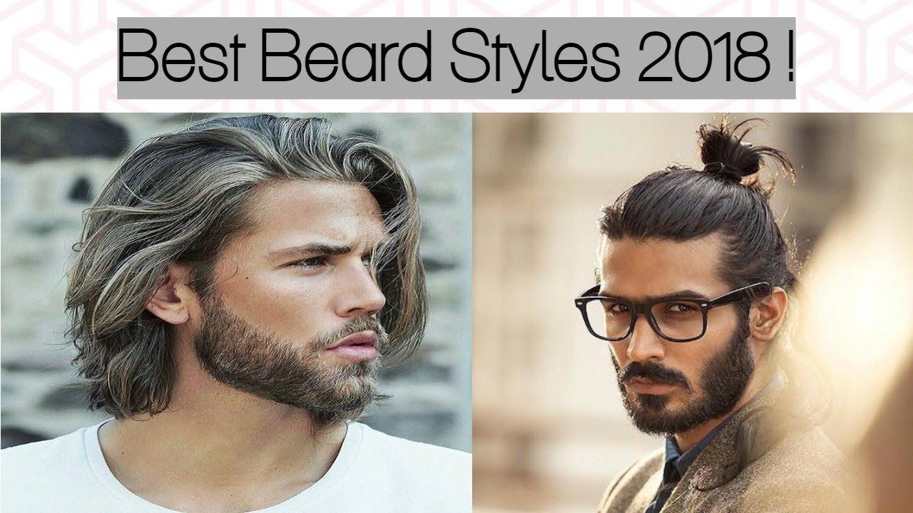 15 Best Beard Styles For Men 2018 : Men's Stylish Facial Hair Styles | Men's New Beard Styles 2018